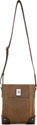 Diesel Brown Cross The Brave Mini Shoulder Bag