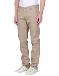 Trend Corneliani Denim Pants Beige