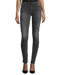 Brockenbow Puzzle Mid Rise Skinny Jeans Intemporel Gray