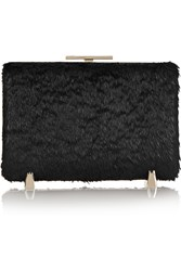Alexander Wang Chastity Coated Calf Hair Box Clutch Black