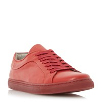 Dune Tricks Colour Block Cupsole Trainers Red