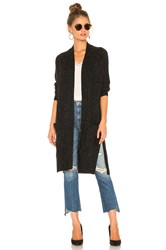 Autumn Cashmere Maxi Cardigan Black