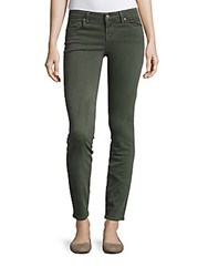 Velvet By Graham And Spencer Toni Skinny Jeans Pine Green