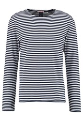 Scotch And Soda Classic Long Sleeved Top Combo Blue