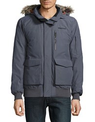 Marmot Stonehaven Faux Fur Trimmed Down Jacket