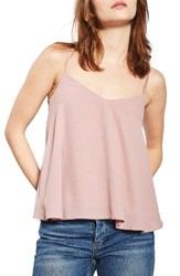 Topshop Women's Rouleau Swing Camisole Rose