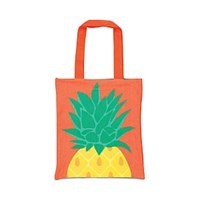 Sunnylife Pineapple Tote Bag Coral