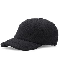 Larose Paris Casentino Wool Baseball Cap Black