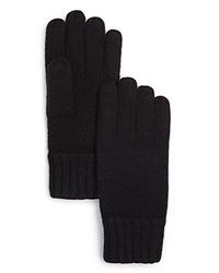 The Men's Store At Bloomingdale's Cashmere Gloves Black