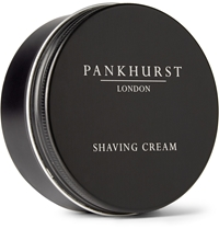 Pankhurst London Shaving Cream Black