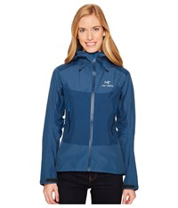 Arc'teryx Beta Sl Hybrid Jacket Poseidon Coat Black