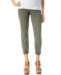 A Pea In The Pod Maternity Skinny Jeans Olive Wash