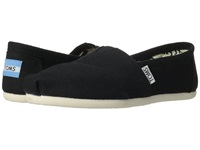 Toms Classics Black Canvas Women's Slip On Shoes