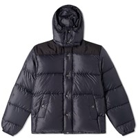 Tres Bien Crescent Down Works Hooded Puffer Jacket Black