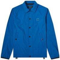 Rag And Bone Flight Logo Coach Jacket Blue