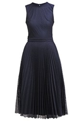 Warehouse Cocktail Dress Party Dress Navy Dark Blue