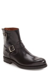 Frye Men's 'Brayden' Engineer Boot Black Black Leather