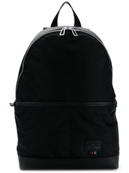 Paul Smith Ps By Logo Zipped Backpack Black