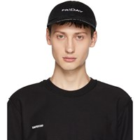 Vetements Black Reebok Edition 'Friday' Weekday Cap