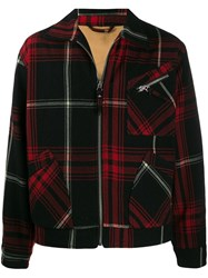 Vivienne Westwood Anglomania Checked Jacket Black