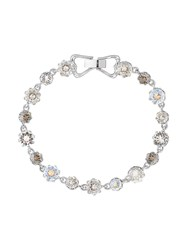 Ted Baker T131401230 Chaley Crystal Crown Bracelet Silver