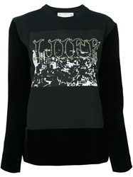 Sacai Wife Sweatshirt Black