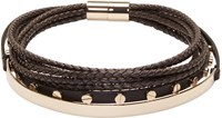 Givenchy Black Multi Row Choker