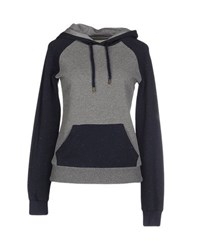 Franklin And Marshall Topwear Sweatshirts Women Grey