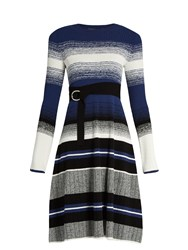 Sportmax Diretta Dress Blue Stripe