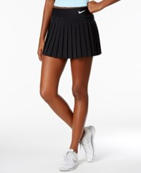 Nike Court Victory Dri Fit Pleated Tennis Skirt Black White