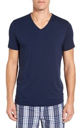 Nordstrom Men's Men's Shop V Neck T Shirt Navy