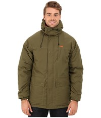 Mountain Khakis Double Down Parka Jacket Field Green Men's Coat