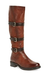 Miz Mooz Women's Charmaine Buckle Strap Boot