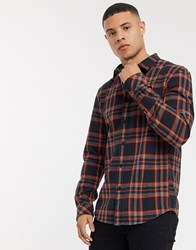Tom Tailor Check Shirt In Red