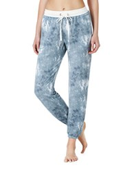 Kensie Printed Jogger Pants Grey