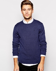Blend Of America Blend Crew Knit Jumper Slim Fit Basic