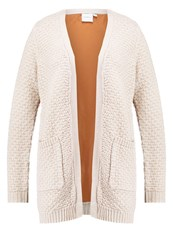 Junarose Jrwicky Cardigan Moonbeam Light Grey