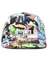 Kenzo 'Cartoon' Cap Multicolour