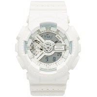G Shock Casio Ga 110Lp 7Aer 'Punching Pattern' Watch White