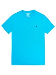 Joules Crew Neck T Shirt New Turquoise