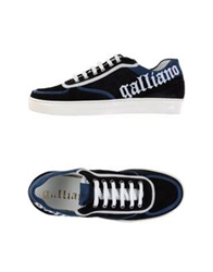 Galliano Low Tops And Trainers Black