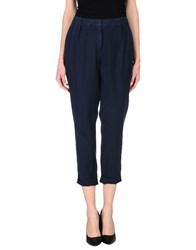 Peserico Sign Trousers Casual Trousers Women Dark Blue