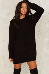 Cheap Monday Long Haul Oversized Sweater Black