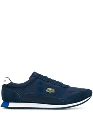Lacoste Panelled Sneakers Blue