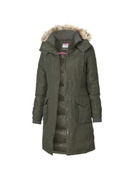 Fat Face Arctic Parka Khaki