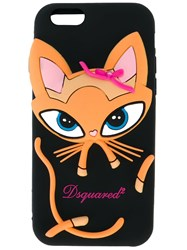 Dsquared2 Cat Iphone 6 6S Case Black