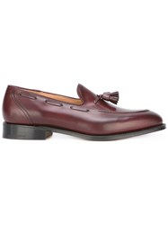 Church's Tassel Detail Loafers Red
