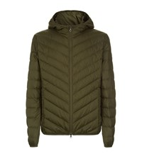 Armani Quilted Down Jacket Black