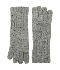 Pendleton Cable Gloves Grey Mix Extreme Cold Weather Gloves Gray