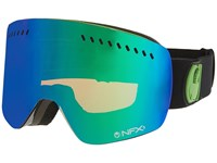 Dragon Alliance Nfxs Jet Green Ionized Yellow Blue Ionized Sport Sunglasses Black